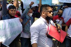 Puluhan Warga Probolinggo Demo di Kejari, Tuntut Kasus PRIM Ditindaklanjuti
