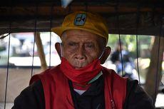 Cerita Kakek Mail Tinggal di Becak Dua Bulan karena Pandemi Covid-19