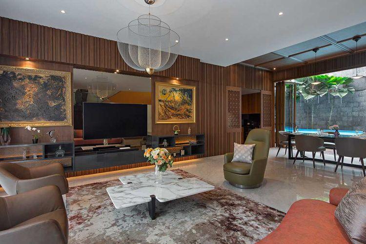 Desain interior rumah eklektik kontemporer karya Vindo Design