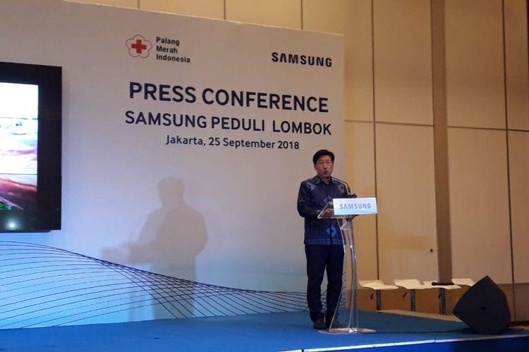 Presiden PT Samsung Electronics Indonesia JaeHoon Kwon