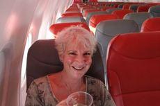 Wanita Ini Jadi Penumpang Tunggal dalam Penerbangan Glasgow-Kreta