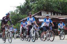 20 Pesepeda Aceh Iringi Tim Jelajah Sepeda ke Blangpidie