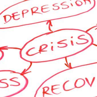 Ilustrasi depresi ekonomi