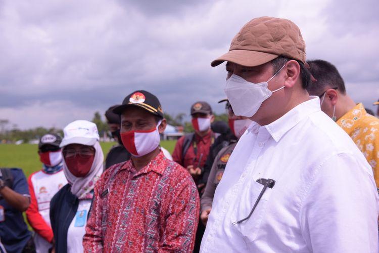 Kementerian Koordinator Bidang Perekonomian kembali memastikan wilayah Kabupaten Pulang Pisau dan Kapuas, Provinsi Kalimantan Tengah (Kalteng) sebagai lokasi food estate.