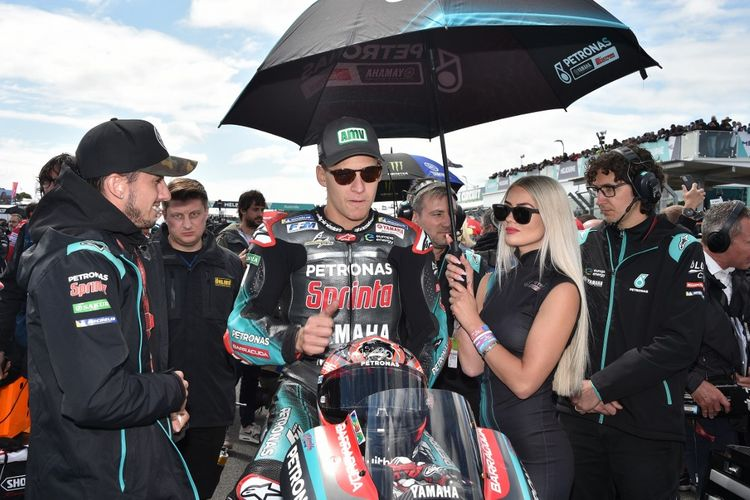 Fabio Quartararo, Rookie of the Year 2019. (Photo by PETER PARKS / AFP) / -- IMAGE RESTRICTED TO EDITORIAL USE - STRICTLY NO COMMERCIAL USE --