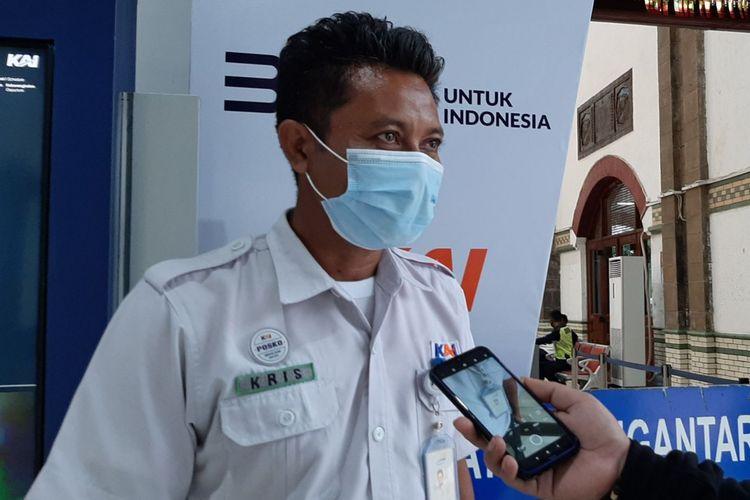 Manager Humas KAI Daop 4 Semarang Krisbiyantoro
