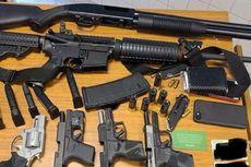 Polisi AS Sergap Pemuda Bersenjata di Kamar Mandi Supermarket, Bawa 6 Senjata Berisi Peluru