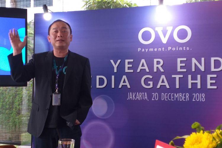 Direktur OVO, Harianto Gunawan.
