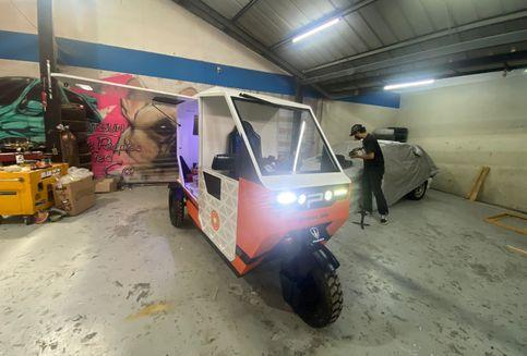 Pemenang Kompetisi Kendaraan Roda Tiga Listrik di IMX 2021, Sangat Fungsional