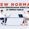 INFOGRAFIK: Protokol New Normal di Tempat Kerja Saat Pandemi Covid-19