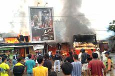 Kronologi Bus Karyawan di Karawang Hangus Terbakar Usai Tabrak Kios Bensin Eceran