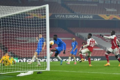 Arsenal Vs Molde, 2 Gol Bunuh Diri Warnai Kemenangan The Gunners