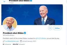 Joe Biden Dapat Akun Twitter Kepresidenan Baru, Follower Mulai dari Nol