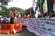 Tolak RUU HIP, Mahasiswa Demo di Depan Istana Bogor