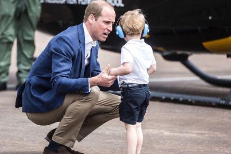 Pangeran George dan Pangeran William