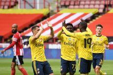 Babak I Sheffield United Vs Arsenal, Penalti Nicolas Pepe Bawa The Gunners Unggul