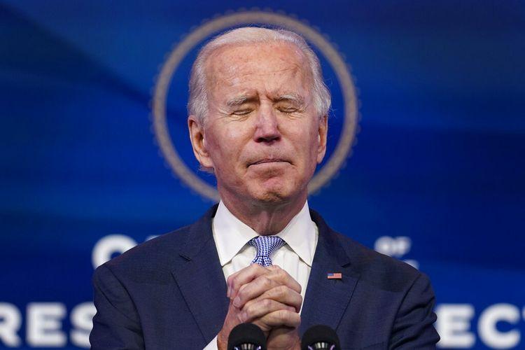 Biden menyebut protes kekerasan di US Capitol sebagai serangan terhadap usaha paling sakral Amerika : melakukan bisnis rakyat.
