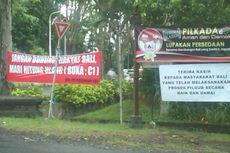 Perang Spanduk Masih Marak di Denpasar