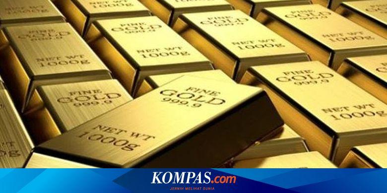 Hari Ini, Harga Emas Antam Turun Rp 10.000
