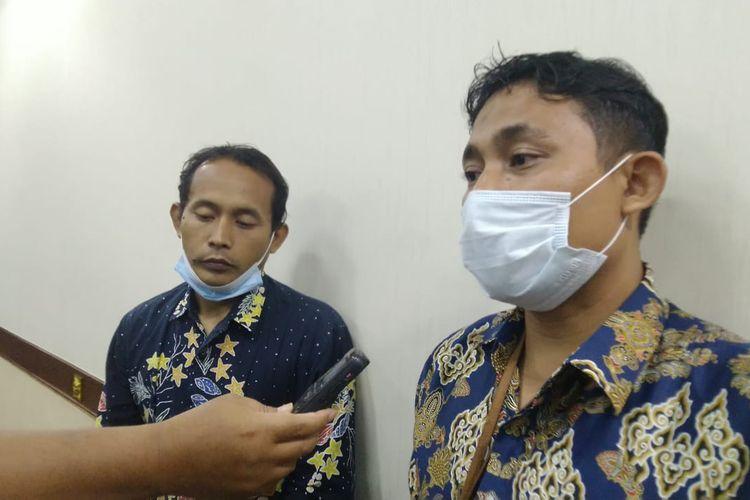 Tim dari ombudsman Jawa Timur saat berkunjung ke kantor DPRD Jember Rabu (16/9/2020)