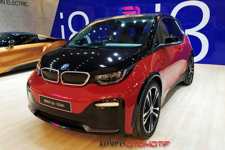 Mobil listrik BMW i3s di GIIAS 2019