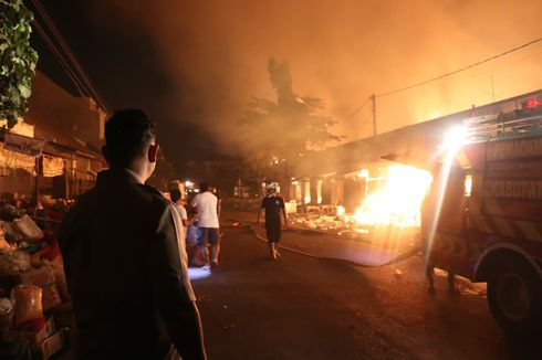 Penyelidikan Kebakaran Pasar Ngunut Tulungagung Butuh Waktu 1 Minggu