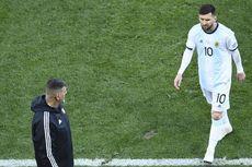 Lionel Messi Vs Cile, Gagal Penalti hingga Kartu Merah