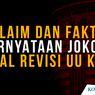 INFOGRAFIK: Klaim dan Fakta Pernyataan Jokowi soal Revisi UU KPK