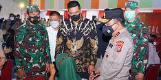 Gelar Vaksinasi Massal, Walkot Bobby Optimistis Medan Capai