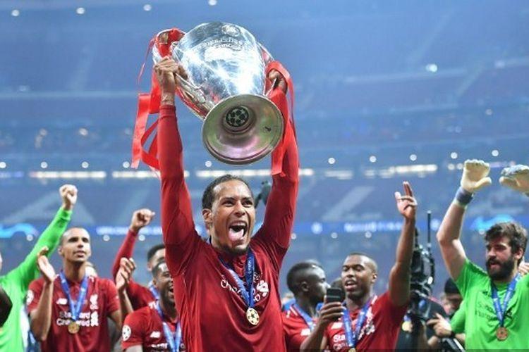 Virgil van Dijk sukses mengantarkan Liverpool juara Liga Champions 2018-2019.