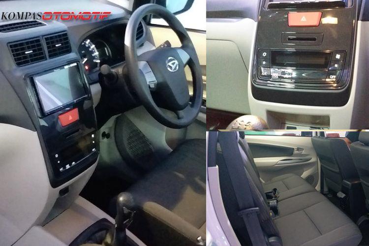 Perubahan interior Daihatsu Xenia facelift 2019