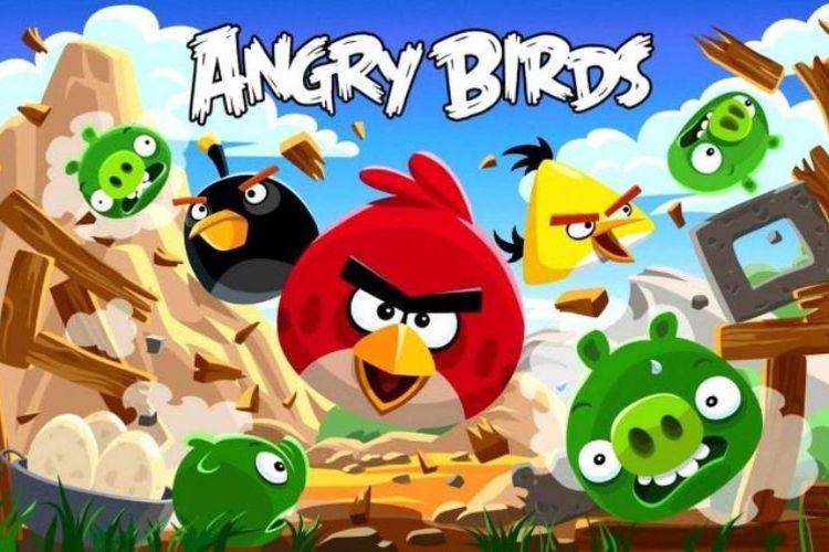 Angry Bird, Game Besutan Rovio