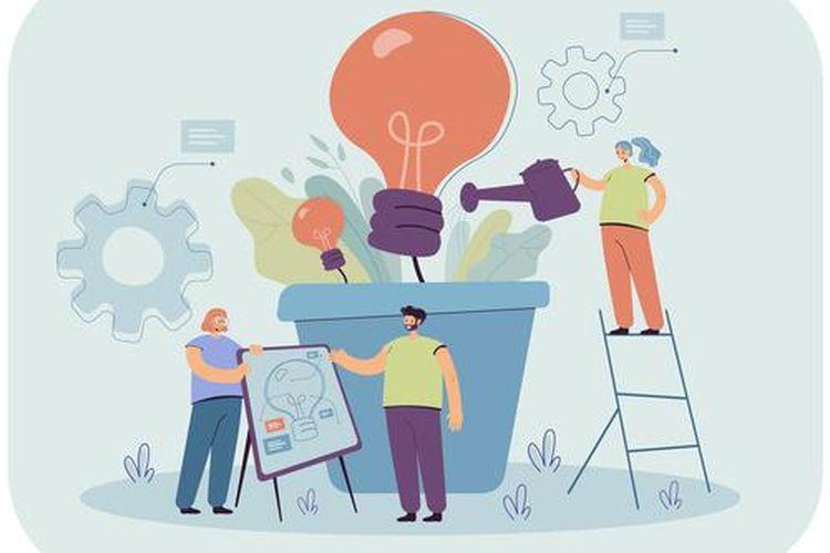 Ilustrasi ekonomi kreatif