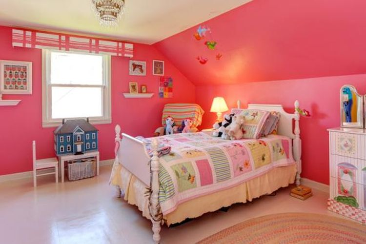 Ilustrasi kamar anak.