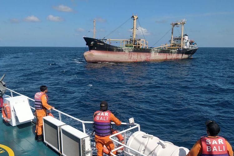 Kapal Kargo yang ssmpat hilang ditemukan Basarnas Bali, Jumat (5/6/2020).
