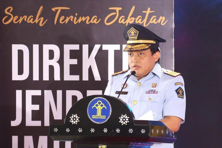 Pelaksana Tugas (Plt) Dirjen Imigrasi Kemenkumham RI Widodo Ekatjahjana.