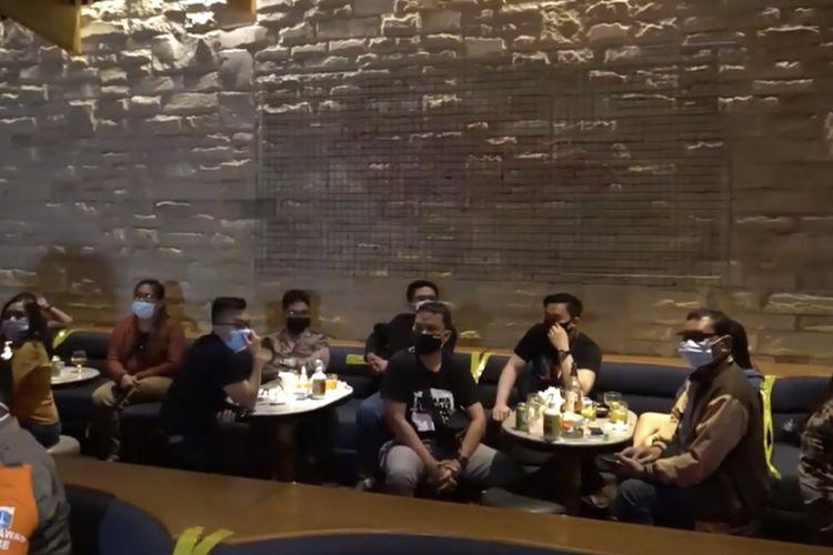 Satu pengunjung kafe Boca Rica Bar and Lounge, Jakarta Selatan dinyatakan positif narkoba jenis benzo.