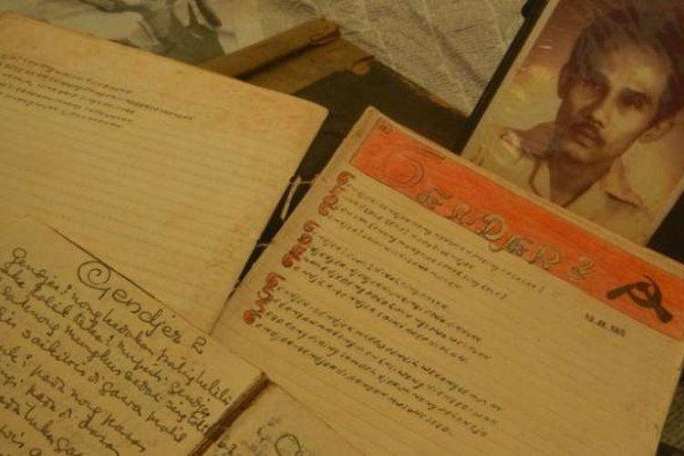 Dokumen milik Muhammad Arief, pengarang lagu Gendjer-gendjer