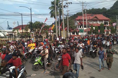 Aksi Protes Tindakan Rasisme Kembali Terjadi di 4 Kabupaten di Papua