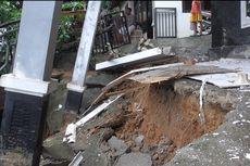 Bencana Longsor Terjang 9 Titik di Samarinda, 4 Rumah Warga Rusak