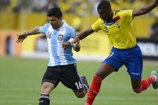 Messi Cadangan, Argentina Ditahan Ekuador