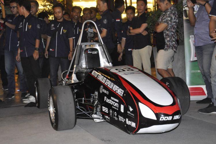 Mobil terbaru andalan Tim Sapuangin, Sapuangin Speed 6, yang bertarung di Student Formula Japan 2018
