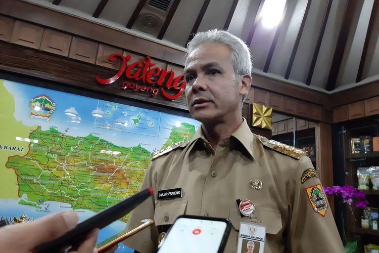 Gubernur Jawa Tengah Ganjar Pranowo