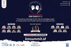 Sambut Era Digitalisasi, Knowledge Management Summit Hadirkan Narasumber Pakar Dunia di Bandung
