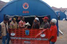 Pemkab Asmat di Papua Bantu Korban Gempa Lombok