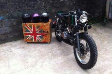 Yamaha RX-King Bergaya Cafe Racer Gara-gara Jatuh ke Jurang