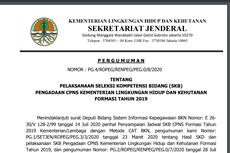 Jadwal SKB CPNS Kementerian LHK Diumumkan, Apa Saja Tesnya?