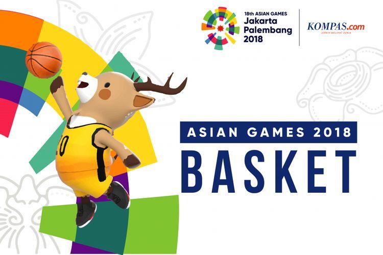 Logo Asian Games Basket 2018