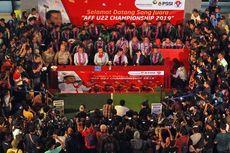 Ini Rute Konvoi Timnas U-22 Pagi Ini untuk Rayakan Gelar Juara AFF