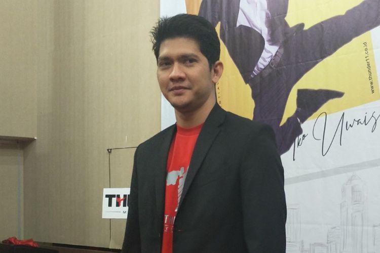 Iko Uwais dalam peluncuran sekolah bela dirinya, Thunder11, di Hotel Horison Ultima, Bekasi, Jawa Barat, Kamis (12/7/2018).